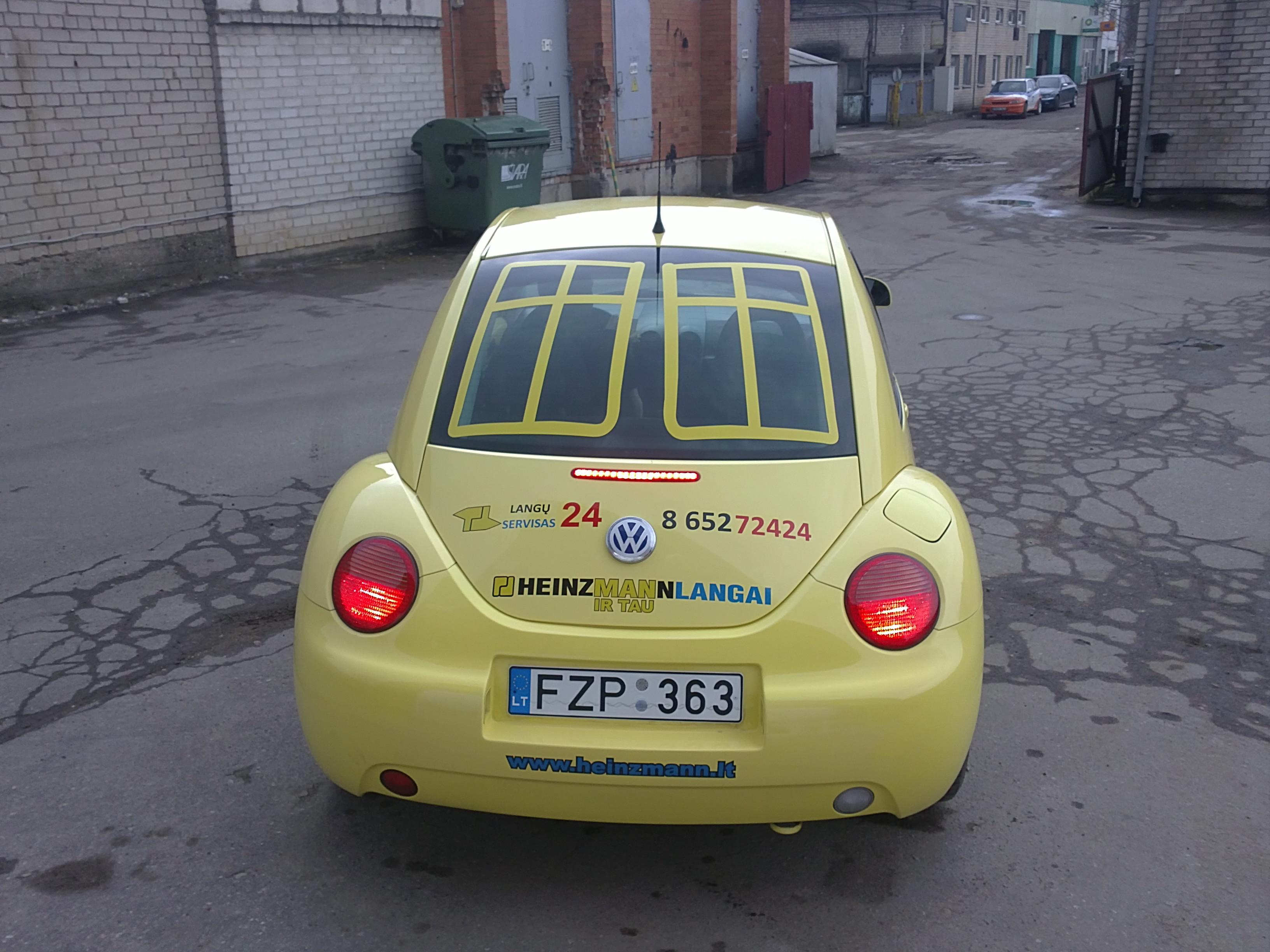 automobilio apipavidalinimas