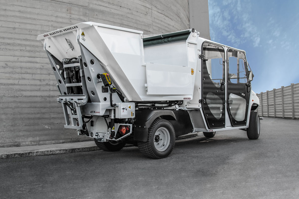 Waste collection vehicle alke